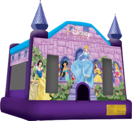 Disney Princess Jumping castle FOR AGES UP TO 12
