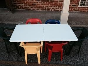 Children's Folding Table - ONLY
