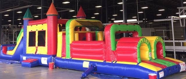 Fun House 6in1 - 52 FT Obstacle course