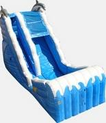 ws Ocean Theme Waterslide Package w/Cotton Candy & Snowcone