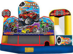 5in1 Race Car Theme  Waterslide/Bounce House