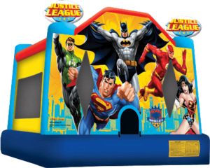 bh Justice League Package w/Snowcon & Cotton Candy