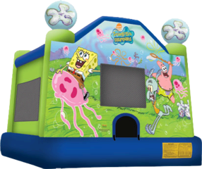bh Sponge Bob Large Package w/Cotton Candy & Snowcone