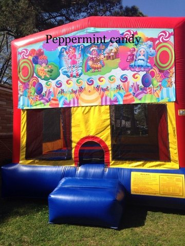 Peppermint Candy Module Bounce