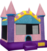 Dazzling Castle Bounce House