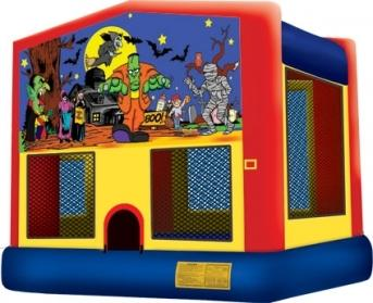 15 ft Scary Night Bounce House