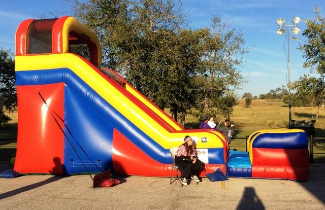 18ft Dry Slide with Bumper