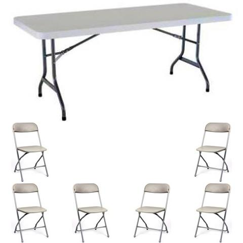 Tables and Chairs-includes setup