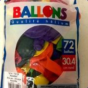 Balloons 72ct-12in