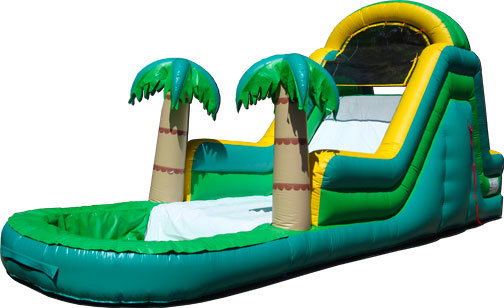 14' High Paradise Rear Entry Water Slide (JSWS6)