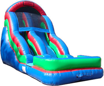 18' High Inflatable Water Slide BGR (JSWS10)