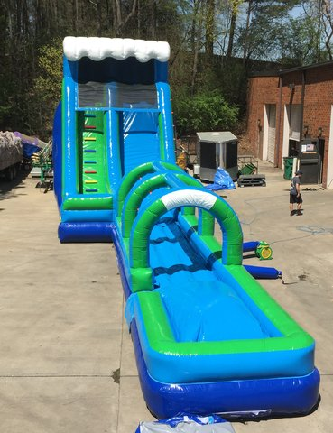 20' High Water Slide with Slip and Dip (JSWS1)