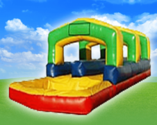 Double Lane Slip and Dip Water Slide