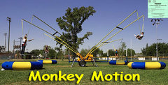 Monkey Motion Carnival Ride - Four Station