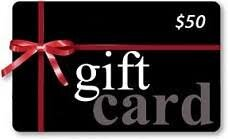 $50 Gift Card (Rental Store Only)