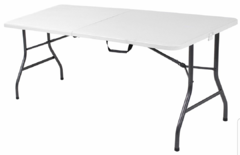 6' Folding Table - Delivery Included