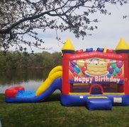 Happy Birthday Waterslide Combo