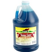 Snow Cone Syrup - Blue Raspberry - 100 Servings