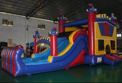 16 x 32 Mega Castle Water Slide Combo