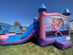 Barbie Wet or Dry Pink Slide Combo