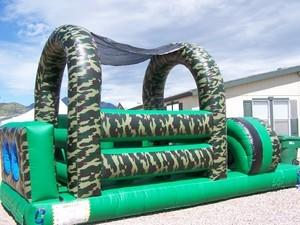 Army Obstacle Course 22ft