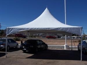 20ftx20ft HP Tent White