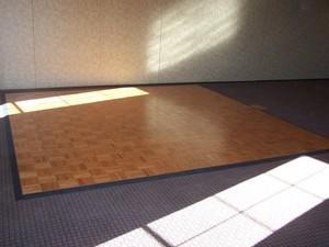 Dance Floor 12ft x 12ft Wood