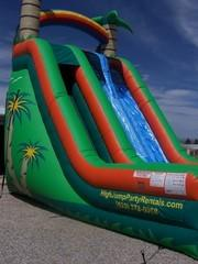 Dry Slide Tropical 2Lane 21ft High