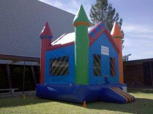 Bounce House Fancy Castle
