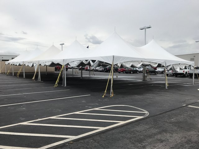 40ftx60ft HP Tent White [Three 20x40]
