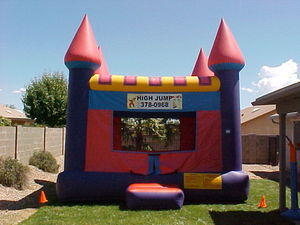 Bounce House Purple Castle