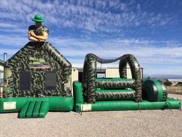 Army Obstacle w/Jump 36ft
