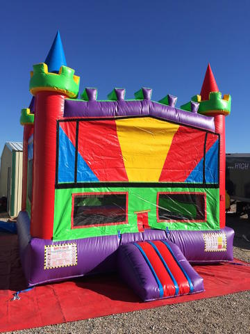 Bounce House Rainbow Castle