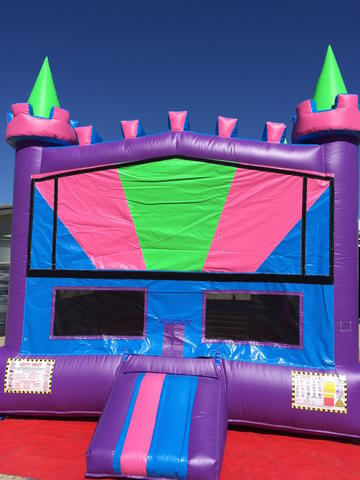 Bounce House Pastel Castle