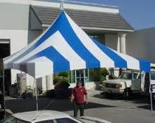 20ftx20ft Blue & White Tent