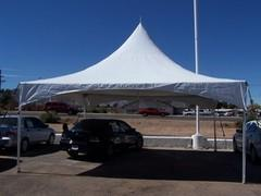 20ftx20ft HP White Tent
