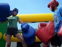 Game Boxing Ring W-Gloves