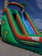 2Lane Giant Tropcial WaterSlide