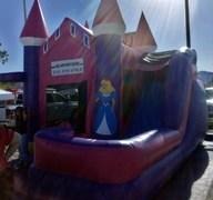 Princess Castle 4in1 Combo Water Slide