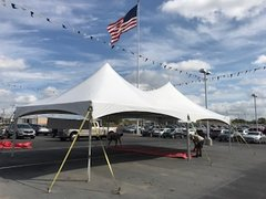 20ft x 40ft HP Tent White