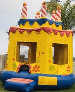 Cake Bounce House Jumper