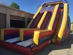22 Foot Giant Double Lane Dry Slide