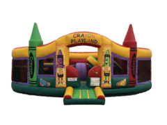 Crayon Playland Obstacle Course