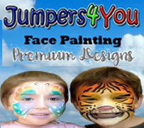 a--Premium Face Painting