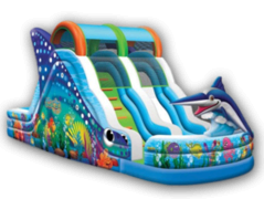 Marlin Splash WET Slide