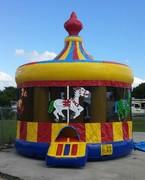 16 Foot Carousel Bounce House