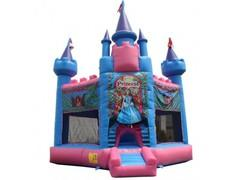 15x15 Princess Hex Bounce House