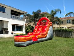 15 Foot Fire and Ice Slide