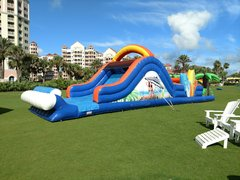48 Foot Tropical Obstacle