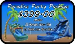 Paradise Party Package